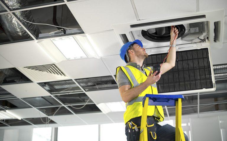 Сервисное обслуживание вентиляционных систем